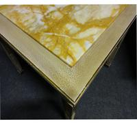 Pair of Marble Topped Lamp / End Tables (9 of 9)