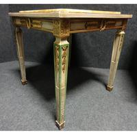 Pair of Marble Topped Lamp / End Tables (3 of 9)
