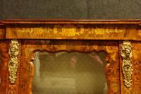 Outstanding Walnut Floral Marquetry Victorian Credenza (7 of 9)