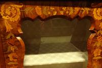 Outstanding Walnut Floral Marquetry Victorian Credenza (6 of 9)