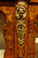 Outstanding Walnut Floral Marquetry Victorian Credenza (2 of 9)