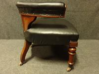 Good Mahogany Desk Chair c.1880 (3 of 6)