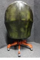 Green Leather Office, Desk Chair (4 of 5)