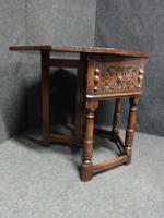 Good Oak Credence Tea Table (4 of 10)