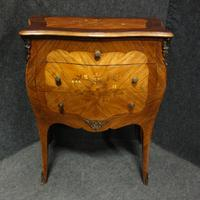 Beautiful French Bombe Shaped Commode Chest of Drawers (6 of 8)