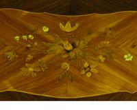 Beautiful French Bombe Shaped Commode Chest of Drawers (5 of 8)