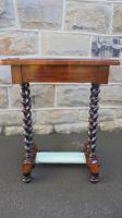 Antique Rosewood Ladies Writing Table (2 of 7)