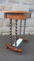 Antique Rosewood Ladies Writing Table (4 of 7)