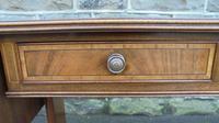Antique Inlaid Mahogany Small Sofa Table (8 of 10)