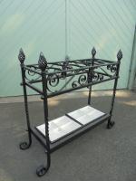 Ornate Antique Cast Iron Stick Stand c.1900
