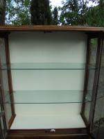 Art Deco Walnut Display Cabinet (2 of 8)