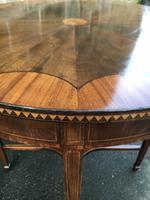 Quality Edwardian Inlaid Mahogany Table (6 of 7)
