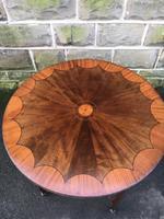 Quality Edwardian Inlaid Mahogany Table (5 of 7)