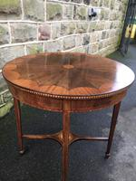 Quality Edwardian Inlaid Mahogany Table (4 of 7)