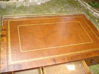 Antique Mahogany Library Table Desk in the Manner of Gillows (3 of 5)