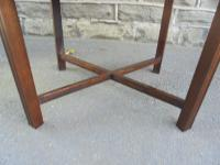 Antique Mahogany Coffee Table c.1910 (6 of 7)