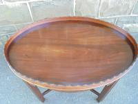 Antique Mahogany Coffee Table c.1910 (2 of 7)