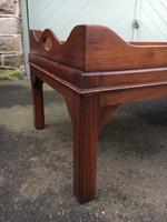 Antique Mahogany Tray Top Coffee Table c.1910 (5 of 5)