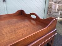 Antique Mahogany Tray Top Coffee Table c.1910 (4 of 5)