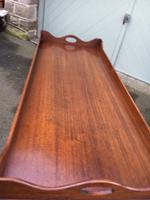 Antique Mahogany Tray Top Coffee Table c.1910 (2 of 5)
