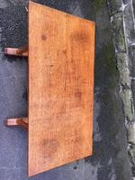 Antique Oak Coffee Table Manner of Heals (5 of 8)