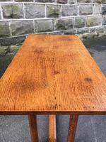 Antique Oak Coffee Table Manner of Heals (3 of 8)