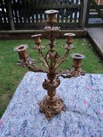 Antique Ormolu 5 Branch Candleabra c.1880