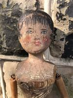 Early Primitive Wooden Articulated Doll (9 of 9)