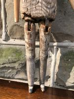 Early Primitive Wooden Articulated Doll (8 of 9)