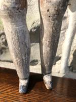 Early Primitive Wooden Articulated Doll (7 of 9)