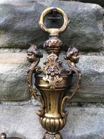 Pair of English Twin Branch Wall Lights (2 of 9)