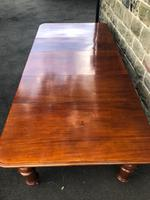 Antique Mahogany 3 Leaf Extending Dining Table (4 of 13)