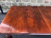 Antique Mahogany 3 Leaf Extending Dining Table (6 of 13)
