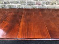 Antique Mahogany 3 Leaf Extending Dining Table (7 of 13)