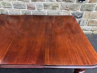 Antique Mahogany 3 Leaf Extending Dining Table (8 of 13)