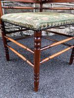 Antique Walnut Aesthetic Movement Corner Chair (2 of 6)
