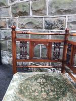 Antique Walnut Aesthetic Movement Corner Chair (4 of 6)