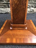 Art Deco Satin Walnut Table (3 of 10)