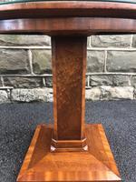 Art Deco Satin Walnut Table (10 of 10)