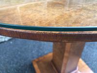 Art Deco Satin Walnut Table (4 of 10)