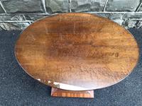 Art Deco Satin Walnut Table (5 of 10)