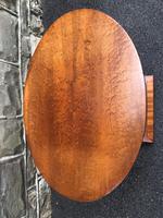 Art Deco Satin Walnut Table (6 of 10)