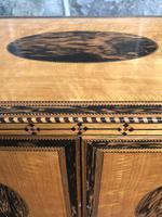 Sheration Period Satinwood & Coramandel Writing Cabinet (2 of 11)