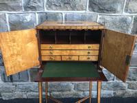 Sheration Period Satinwood & Coramandel Writing Cabinet (8 of 11)