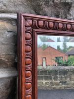 Antique Oak Tailors Outfitters Mirror (2 of 5)