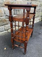 Liberty's Antique Oak Occasional Table (2 of 7)