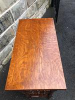 Liberty's Antique Oak Occasional Table (3 of 7)