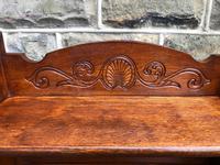 Arts & Crafts Oak Folding Bookcase (3 of 9)