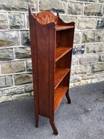 Arts & Crafts Oak Folding Bookcase (4 of 9)