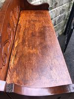 Arts & Crafts Oak Folding Bookcase (9 of 9)